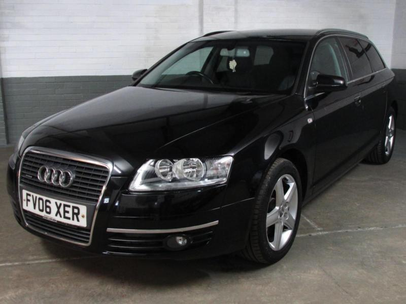 2006 06 audi a6 avant 2 7 tdi v6 180 bhp auto quattro se. Black Bedroom Furniture Sets. Home Design Ideas