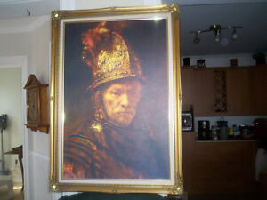 Canevas peinture a l'huile Le conquistador Saint-Hyacinthe Québec image 3