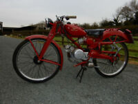 MOTO GUZZI CARDELLINO 65cc 1955 MATCHING ENGINE AND FRAME NUMBERS