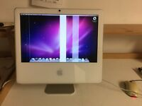 "iMac 17"" - 1.83ghz core duo processor, 1gb ram, 160gb hdd - lines on screen"