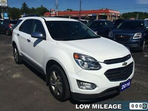 2016 Chevrolet Equinox LTZ   - Certified - BLUETOOTH -  LOW KMS