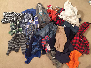Bunch of boy clothes