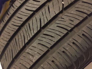 2 continental procontact tires 245/40/17