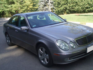 2003 Mercedes-Benz E-Class fully loaded Sedan