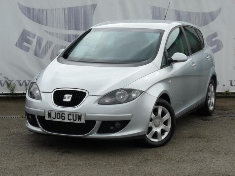 2006 SEAT ALTEA 1.9 STYLANCE TDI DIESEL 10 SERVICE STAMPS TOWBAR 16 INCH ALLY WH
