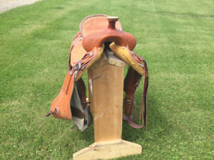 16 in ranch saddle