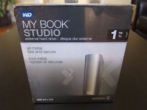 WD 1TB My Book Studio Mac External USB 3.0 Hard Drive HDD *New*