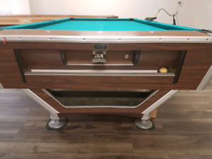 Slate pool table for sale