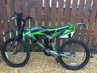 "20"" bike - Avigo Motobike with suspension"
