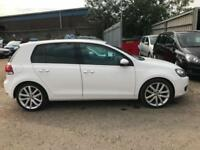 2012 Volkswagen Golf 2.0 GT TDI ( 140ps ) White, 5dr Hatch, **ANY PX WELCOME**