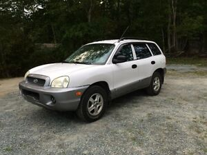2003 Hyundai Santa Fe For sale or trade for a 4 wheeler