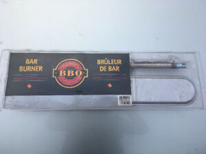 Brand new, stainless steel BBQ burner