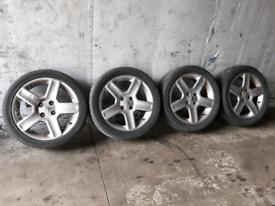 "PEUGEOT 206 GTI 17"" ALLOYS 4X108 - 307 / 406 / PARTNER / BERLINGO etc"