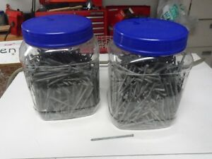 """Two tubs of 3"""" galvanize finishing  nails"""