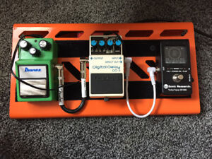 Pedals and board