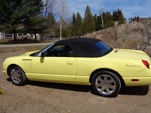2002 Ford Thunderbird Special Edition Convertible