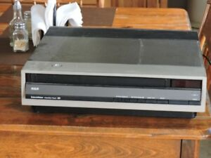 RCA video disc player with Star Trek discs