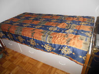 Matelas lit simple