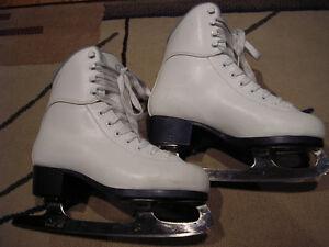 Jackson Soft Skate girls competition figure skates - size 4