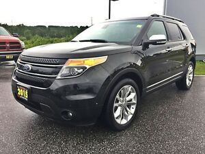2015 Ford Explorer Limited V6 4WD | FULLY LOADED