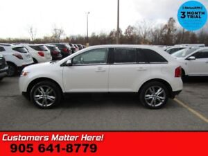 2013 Ford Edge SEL  NAV LEATH PANO-ROOF PWR-GATE  BT HS PARK-SEN