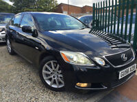 ✿56-Reg Lexus GS 300 3.0 SE CVT 4dr, Black ✿VERY LOW MILEAGE✿