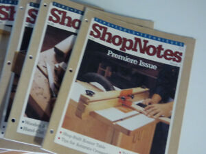 Shop Notes Magazines