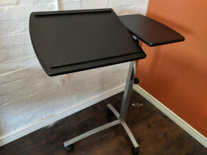 Desk Stand Portable Adjustable Rolling Podium $50