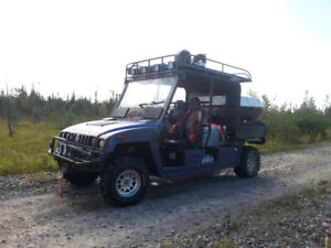 Side by Side 4 Seater Workhorse - Great Hunting UTV!