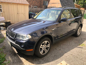2008 BMW X3 with just over 100,000 Kms