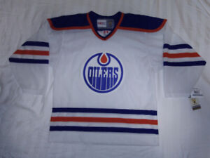 Mint Condition Oilers Jersey