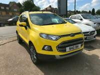 FORD ECOSPORT 1.0T ( 125ps ) EcoBoost TITANIUM YELLOW 2015