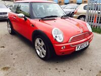 MINI ONE 1.6 HATCH, PANORAMIC ROOF, LEATHER