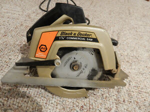 "Reduced in price - Black and Decker 7 1/4"" Circular Saw"