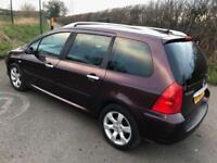 2005 SE Peugeot 307 SW 1.6HDi ( 110bhp )