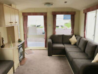 8 berth caravan Sandylands Holiday Park Direct beach access open 12 months