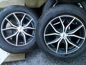 DAI Mags and Tire for Toyota Honda Mazda 195-65-15, 5x114.3