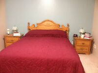 5 pices bedroom set
