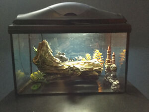 Aquarium complete kit/ ensemble d'aquarium complet