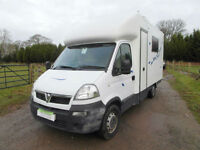 Vauxhall Motocross Box Van - Rear Access - 4 Seatbelts