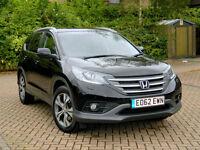 2013 62 Honda Cr-V 2.2 i-DTEC EX Executive 4x4 5dr WITH PANROOF+DAB+REVERSE CAM