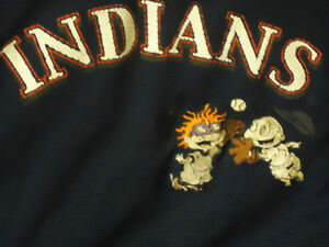 Boys Size 4/5 INDIANS ***Rugrats*** Jersey short sleeve Kingston Kingston Area image 2