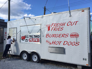Custom Mobile Food Trailer