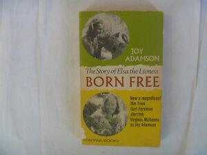 BORN FREE by Joy Adamson - 1966 British Paperback
