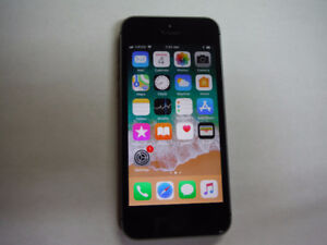 Iphone 5s Bell/Virgin 16GB  Good condition
