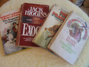 BUNDLE of 4 SOFT COVERED ROMANTIC FICTION
