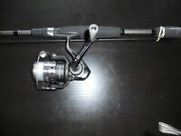 Canne moulinet, comme neuf, RE-AX, Fishing reel rod