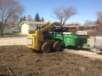 Last call for fall ( skid steer, bobcat, excavating)