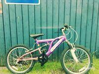 "Girls 24"" Mountain Bike Bicycle"