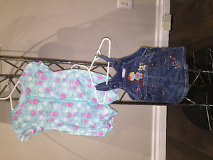 Baby girl clothes from 0 to 9 months